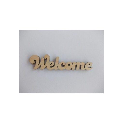 Welcome  - felirat