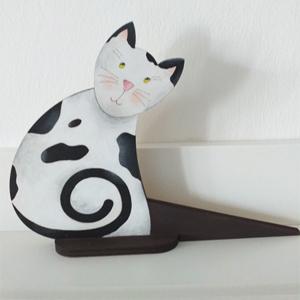 Ajtókitámasztó cica - ÚJ